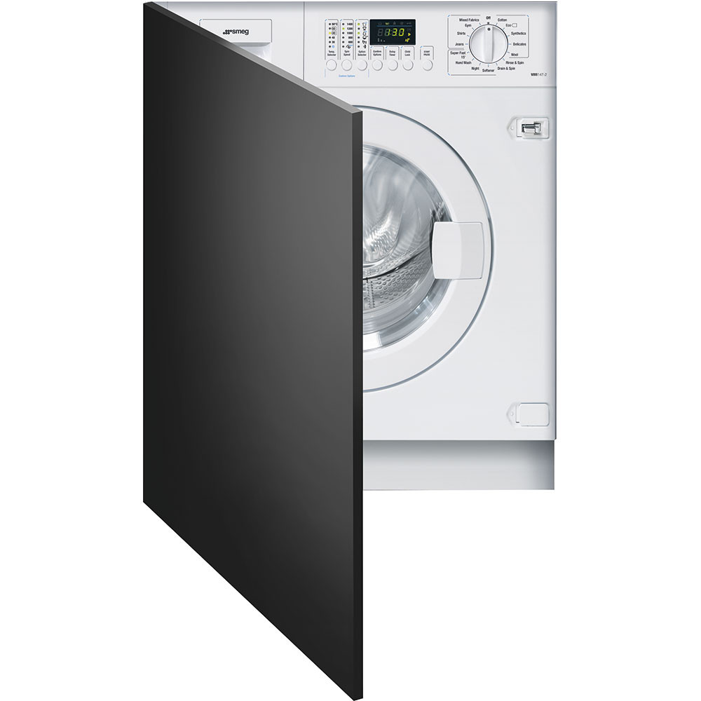 Smeg WMI147-2 60cm Fully Integrated 7kg A++ Rated Washing Machine