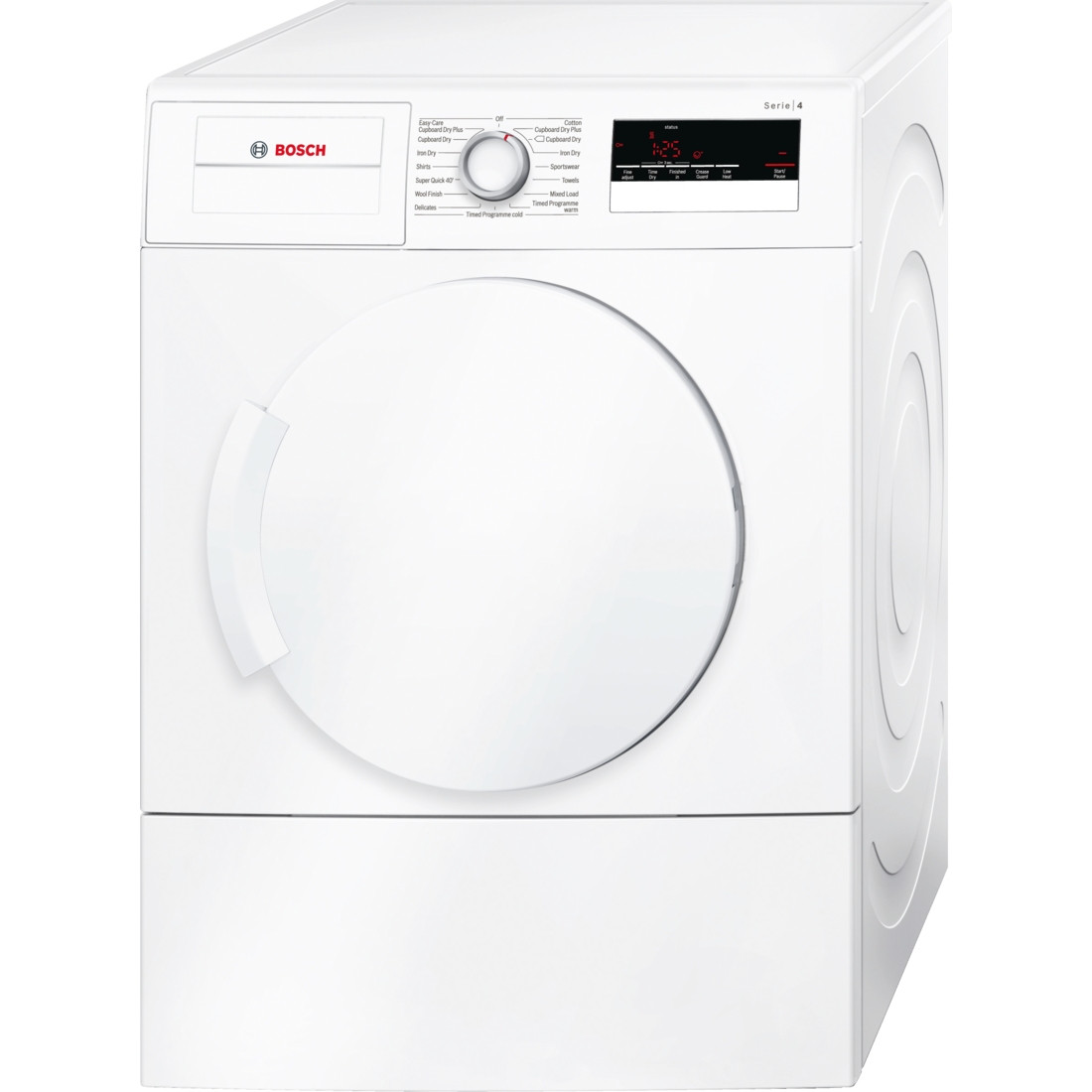 Bosch WTA79200GB Freestanding White Vented 7kg C-Rated Tumble Dryer