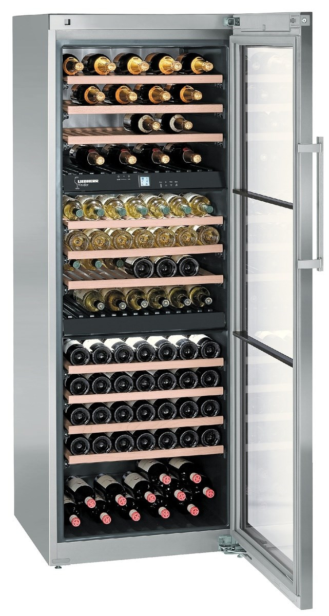 Liebherr WTes 5872 Vinidor Stainless Steel Wine Cooler