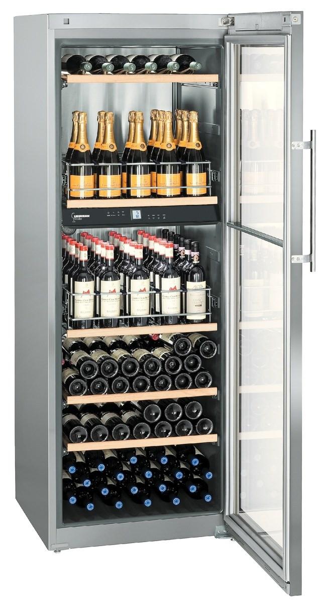 Liebherr WTpes 5972 Vinidor Stainless Steel Wine Cooler