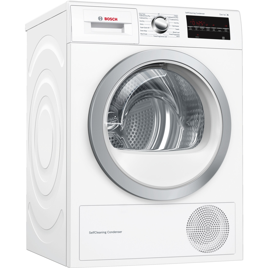 Bosch Serie 6 WTW85492GB Freestanding White Condenser 8kg A++ Rated Tumble Dryer