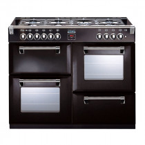 Stoves Richmond 1000DFT Black 100 Dual Fuel Range Cooker