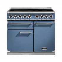 Falcon 1000 Deluxe Induction Range Cooker China Blue