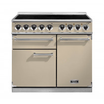 Falcon 1000 Deluxe Induction Range Cooker Cream