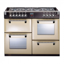 Stoves Richmond 1000DFT Champagne 100 Dual Fuel Range Cooker