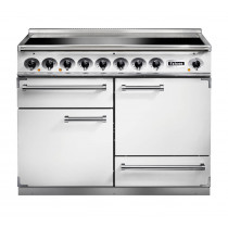 Falcon 1092 Deluxe Induction Ice White/Nickel Range Cooker