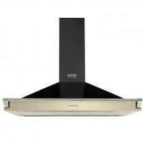 Stoves 110 Champagne Richmond Chimney Hood With Rail