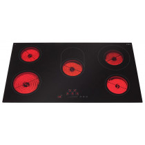 CDA Ceramic Hob 90 Five Zone Front Control HC9620