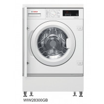Bosch WIW28301GB Integrated 8kg 1400 Spin Washing Machine with VarioPerfect - White