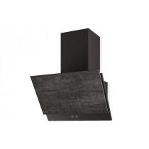 Faber Grexia 60cm Dark Grey Stoneware Wall Hood