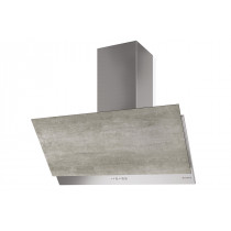 Faber Grexia 90cm Light Grey Stoneware Wall Hood