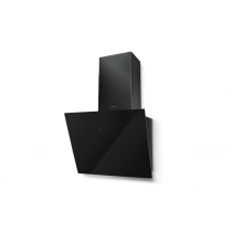 Faber Tweet 55cm Black Glass Wall Hood