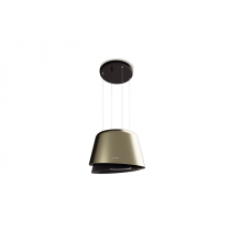 Faber Belle Plus 69.5cm Gold / Warm Dark Grey Matt F-Light Hood