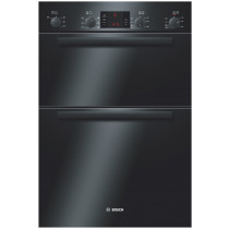 Bosch Serie 6 Built In 5 Function Double Oven Black