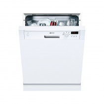 Neff S41E50W1GB 60 White Semi-Integrated Dishwasher