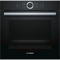 Bosch Serie 8 HBG634BB1B Black Built-in Oven