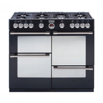 Stoves Sterling 1000GT Black 100 Gas Range Cooker
