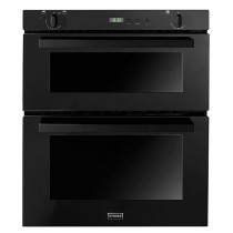 Stoves SGB700PS 70 Built-Under Black Gas Double Oven