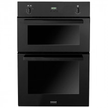 Stoves SGB900PS 90 Built-In Black Gas Double Oven