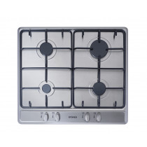 Stoves SGH600E 60 Stainless Steel Gas Hob