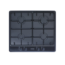Stoves SGH600E 60 Black Gas Hob