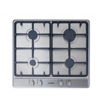 Stoves SGH600C 60 Stainless Steel Gas Hob