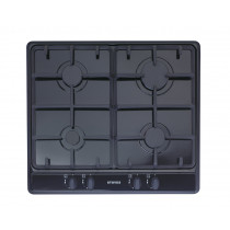 Stoves SGH600C 60 Black Gas Hob