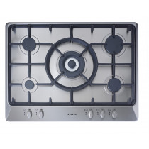 Stoves SGH700C 70 Stainless Steel Gas Hob