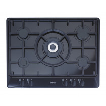 Stoves SGH700C 70 Black Gas Hob