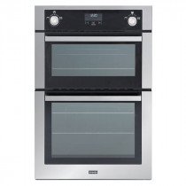Stoves SGB900MFSE 90 Built-In Stainless Steel Gas Double Oven