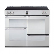 Stoves Sterling 1000Ei Stainless Steel 100 Induction Range Cooker