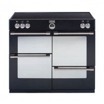 Stoves Sterling 1000Ei Black 100 Induction Range Cooker