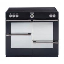 Stoves Sterling 1000Ei Black 100 Induction Range Cooker