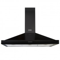 Stoves 110 Black Richmond Chimney Hood