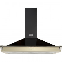 Stoves S900 Champagne Richmond Chimney Hood With Rail