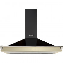 Stoves S1000 Champagne Richmond Chimney Hood With Rail