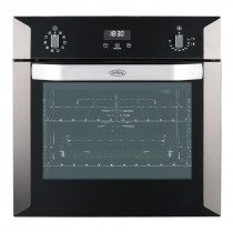 Belling BI60EPYR Built-In 60 Stainless Steel Pyrolytic Single Oven