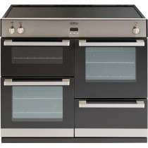 Belling DB4 100cm Induction Stainless Steel Range Cooker