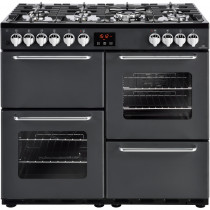 New World 444444199 Traditional 100DF Charcoal Dual Fuel Range Cooker