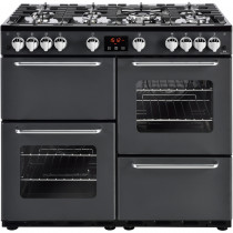 New World 444444200 Traditional 100GT Charcoal Gas Range Cooker