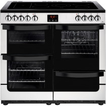 New World 444444213 Vision 100E Stainless Steel Electric Range Cooker