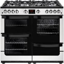 New World 444444215 Vision 100G Stainless Steel Gas Range Cooker