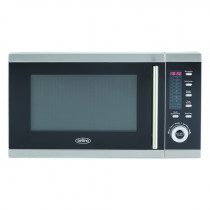 Belling FM2590G Stainless Steel Freestanding Microwave and Grill
