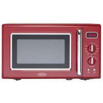 Belling FMR2080S Red Freestanding Microwave