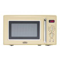 Belling FMR2080S Cream Freestanding Microwave