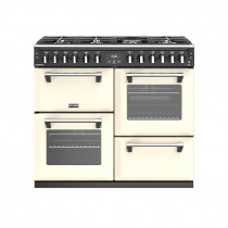 Stoves Richmond S1000DF Dual Fuel Classic Cream 100 Range Cooker 444444452