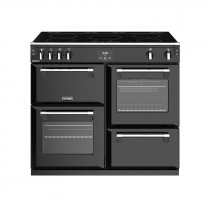 Stoves Richmond S1000EI Induction Black 100 Range Cooker 444444460