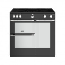 Stoves Sterling S900EI Induction Black 90 Range Cooker 444444487