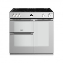 Stoves Sterling S900EI Induction Stainless Steel 90 Range Cooker 444444488