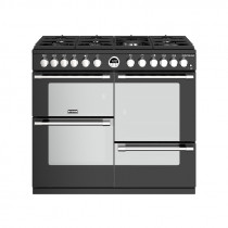 Stoves Sterling S1000DF Dual Fuel Black 100 Range Cooker 444444491